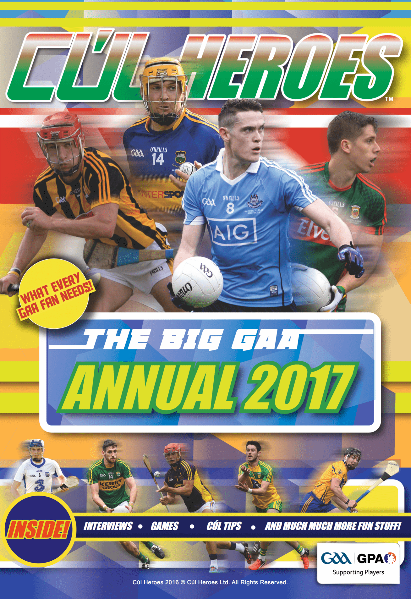 Cúl Heroes – The Big GAA Annual 2016