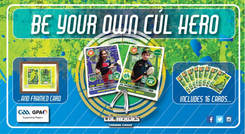 Personalised Cards 2017 – Be Your Own Cúl Hero